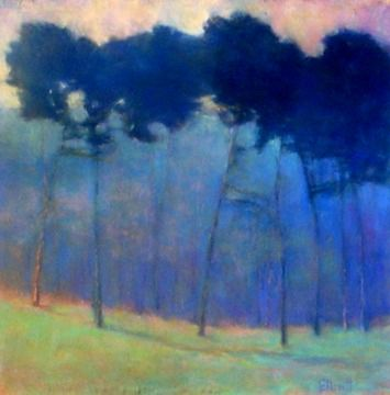 """Ken Elliott """"Soft Blue Progressions"""" Dang. ANOTHER fabulous artist I'll have to keep track of. Oh well."""