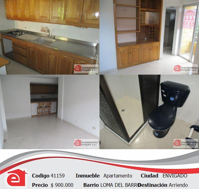 Apartamento cerca a la clínica de la policía, Envigado. $900.000. Conocelo en http://www.arrendamientosenvigadosa.com.co