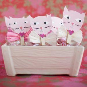 Упаковка для конфет Влюбленный котик