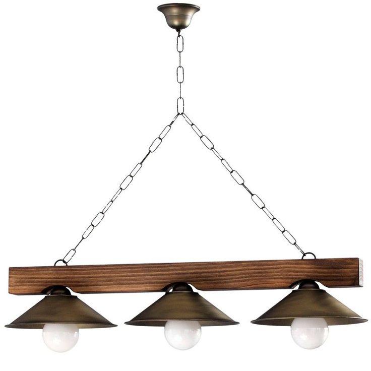 M s de 25 ideas incre bles sobre lamparas de techo - Lamparas de madera rusticas ...