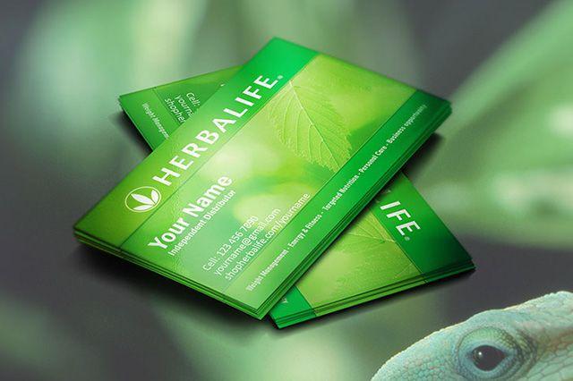 Creative herbalife business cards idea ideal for for Herbalife business card templates