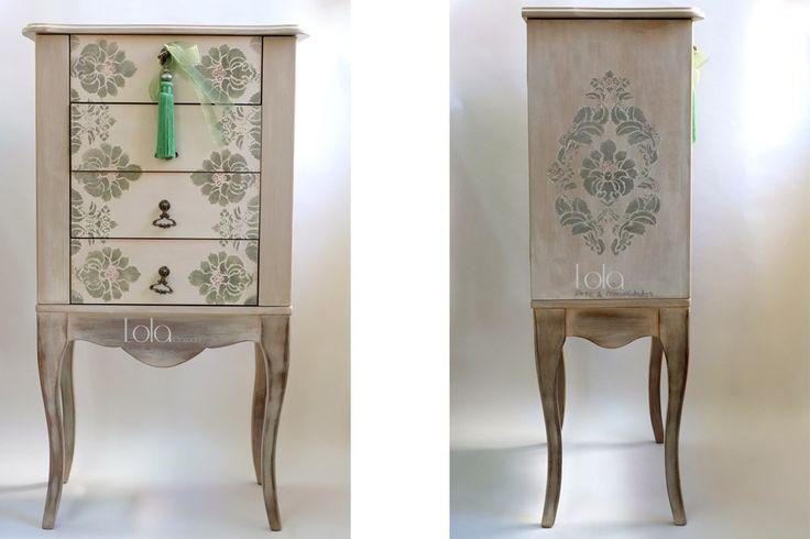 Muebles en crudo: En esta página os muestro trabajos realizados de decoración de muebles en crudo, pintado de forma artesanal. Mueble de entrada: Consola Mueble de entrada, consola, la he decorado …