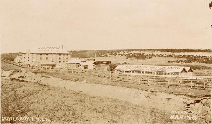 Canterbury NSW (including JC Hutton Pty Ltd,Ham & Bacon Curers) in 1915.