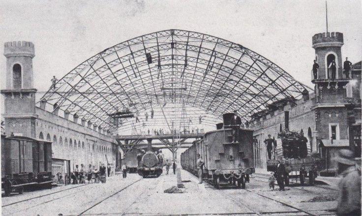 """""""Stazione di Brescia nel 1875"""" http://www.bresciavintage.it/brescia-antica/cartoline/stazione-brescia-nel-1875/"""