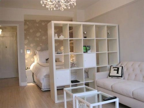 Nice idea for studio apartment or living space downstairs. (Sep13)