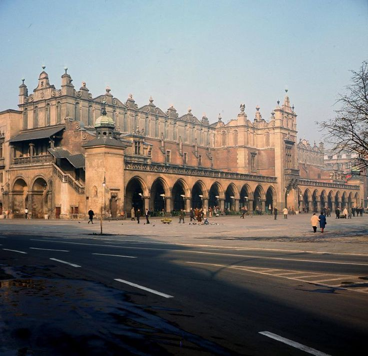 Sukiennice. Kraków, 1975 rok
