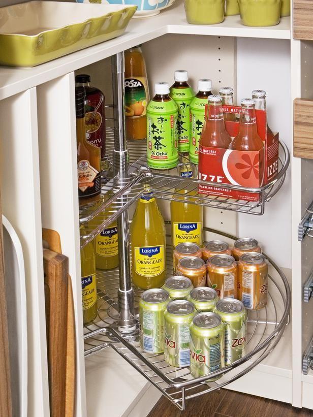Corner Kitchen Cabinet Storage Ideas 64 best images about kitchen's storage on pinterest | smart