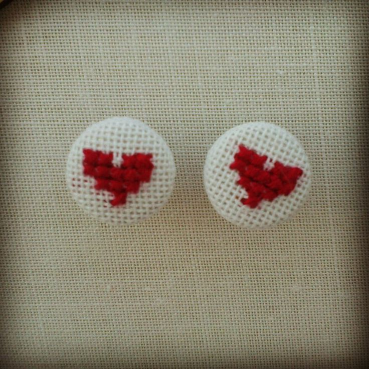 Cross Stitch Earings