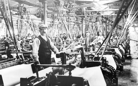 Lancashire Telegraph: Cotton mill