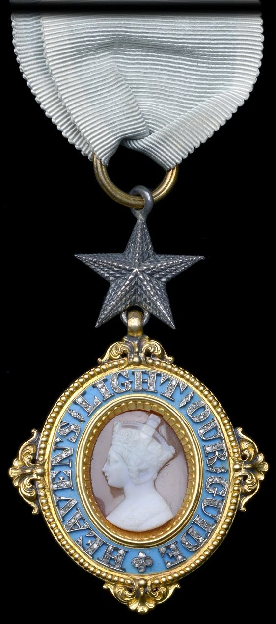 Order of the Star of India, C.S.I., Companion's neck badge, to Edward William Perry, 1946, Garrard.