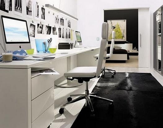 Oficinas con colores claros para despejar la mente