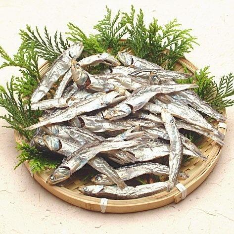 Dried sardines いりこ