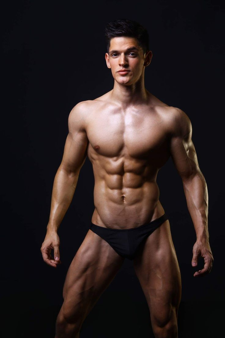 Vector illustration of naked men body stock vector