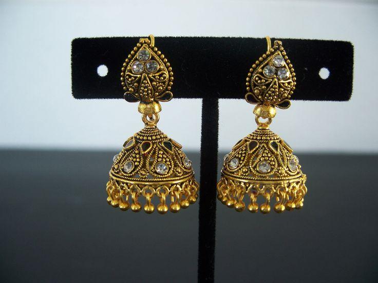 Earrings Jhumka Traditional Jewelry Fashion Jewelry Earrings Bollywood Jhumki Earring