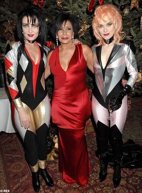 Legs. Siouxsie Sioux, Shirley Bassey, & Pam Hogg