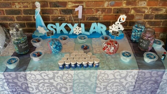 Frozen Party Candy Corner