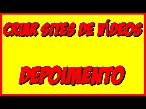 Depoimento - Criar Sites de Videos em Piloto Automático - YouTube