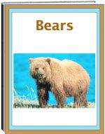 Thematic Unit - The unit on Bears is fascinating and very informative. The unit tells about the habitats, various kinds, and many facts about bears. Some of the bears are: pandas, brown, black, polar, Asiatic black bear, Kodiak, and more. The unit includes worksheets: criss cross, unscramble the words, word find, spelling, fill in the blanks, and more.