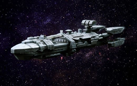 Athena Class Battle Cruiser from 1997's Starship Troopers.