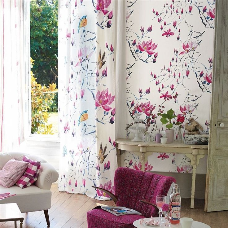 Tissus Designers Guild Madame Butterfly