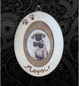 Die Anleitung zu diesem süßen Hunde - Bild Diy finden Sie auf unserer Website!