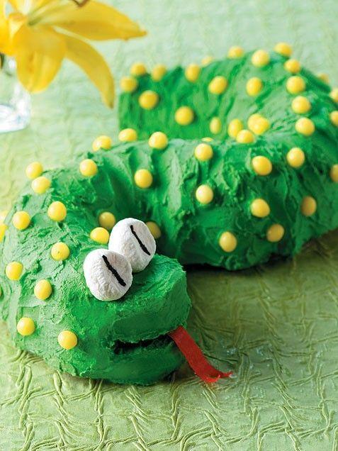 Birthday SnakeLemon Cake, Snakes Cake, Birthday Parties, Kids Birthday Cake, Cake Ideas, Parties Ideas, Bundt Cake, Kids Cake, Birthday Cakes