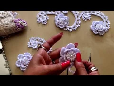 Tutorial Botón a crochet - YouTube