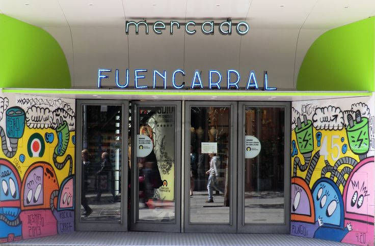 The Mercado de Fuencarral in Malasaña houses an eclectic, alternative range of independent fashion, music, and homewares retailers.