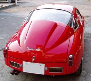Fiat Abarth 750 Record Monza Coupe Zagato - 4 by Fine Cars, via Flickr