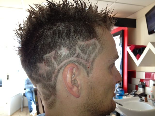 Cool Line Designs In Hair : Best images about hair cuts with designs on pinterest