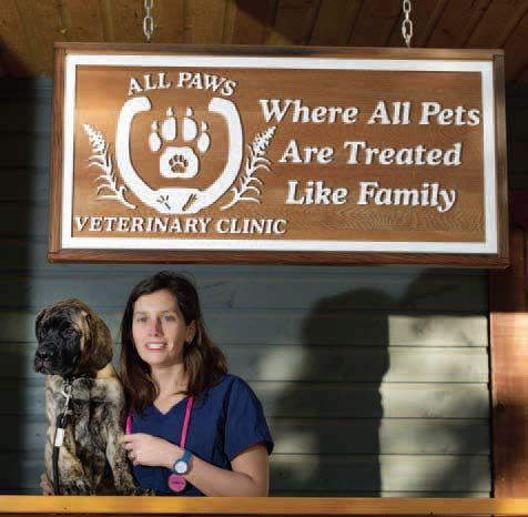Candace Stuart - All Paws Veterinary Clinic (photo: archbould.com)