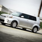"2012 SCION XB  MSRP: $17,030  We'd bet if you never hear the expression ""think outside the box"" in an ad campaign or at another meeting, it wouldn't be too soon. But in the case of the 2012 Scion xB, however, most of the good thinking takes place inside the box; in this case, the xB's friendly, practical, boxy bodylines."