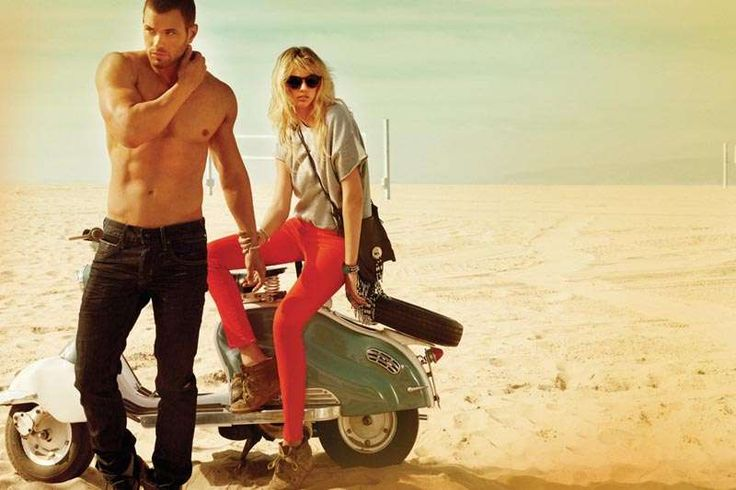 Golden Beach Fashion Ads : Dylan George and Abbot Main Fall 2012