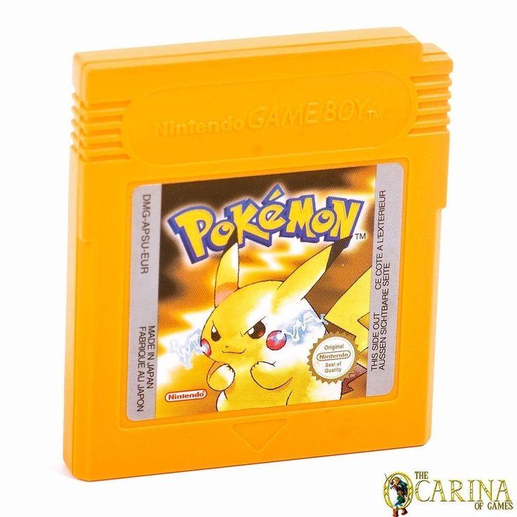 Pokemon Yellow - Nintendo Gameboy Retro Game Cartirdge UK PAL Loads & Saves in Video Games & Consoles, Games | eBay