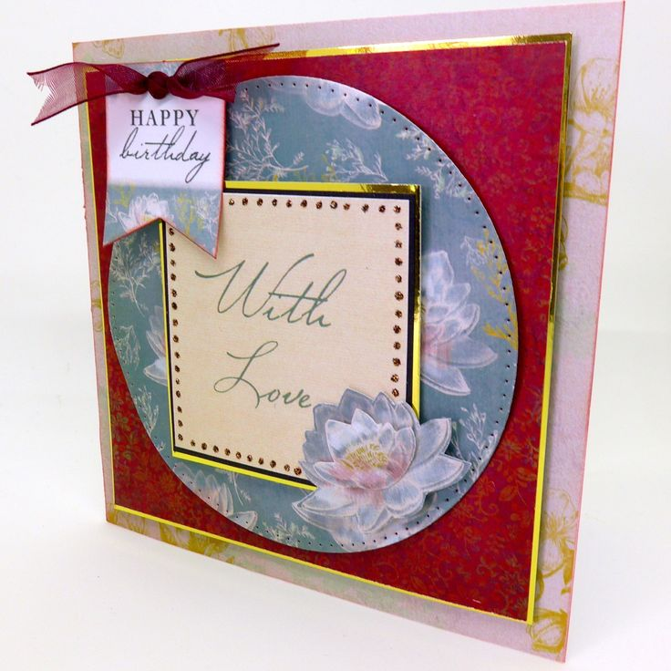 Made by Clare Curd for Craftwork Cards using Chinoiserie Collection Papers and tags.