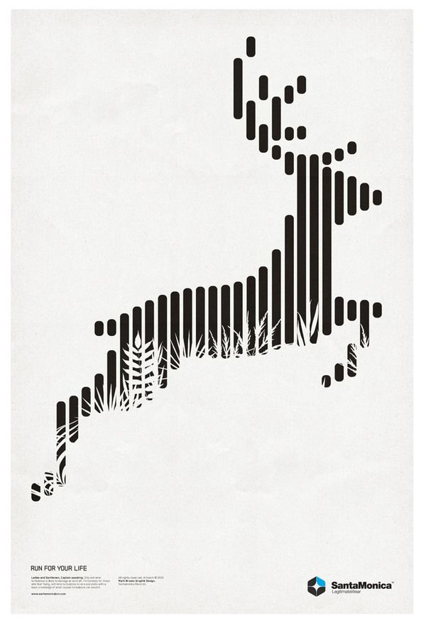 the way the animal is made up of lines is really cool to me but then also how the artist puts the grass into the animal is interesting.