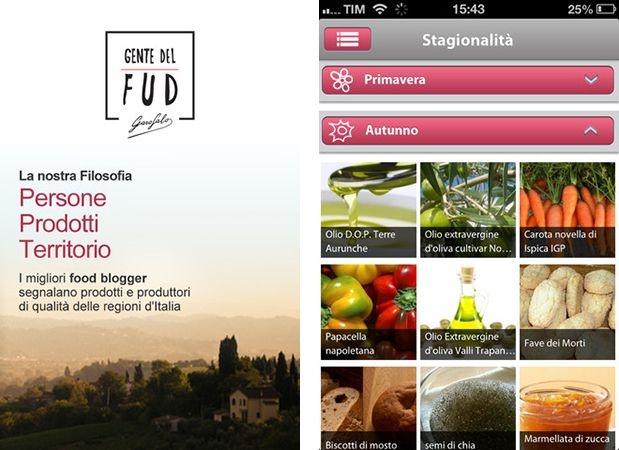 #GenteDelFUD è un progetto molto ambizioso, che raccoglie oltre 360 #FoodBlogger italiani e ci fa scoprire le eccellenze gastronomiche del nostro paese. Il social network ora è diventato un'app per #iPhone, per la gioia di chi ama la buona cucina.
