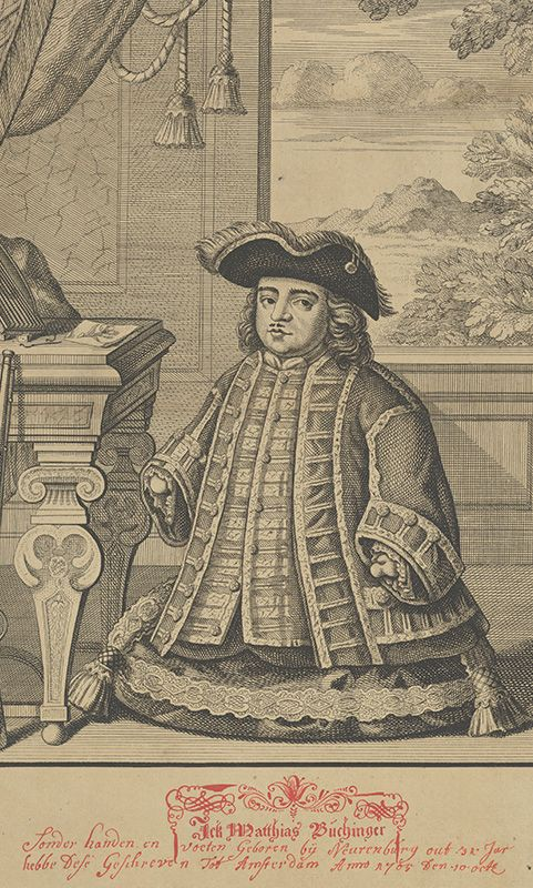 Portrait of Matthias Buchinger
