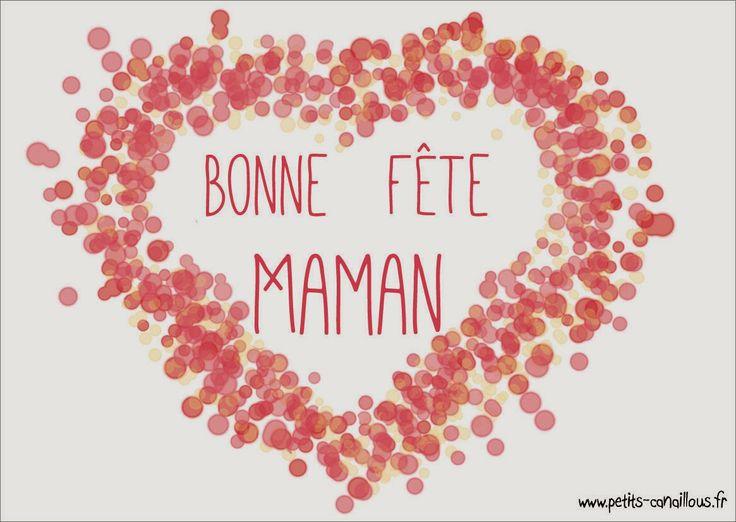 Jolie carte pour la fête des mères [printable] par petits-canaillous.fr