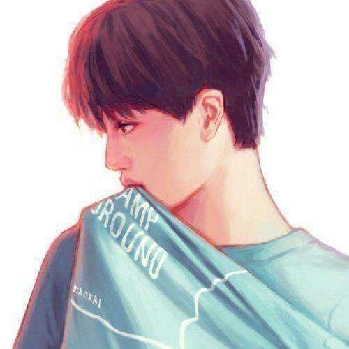 ~ ..U R beautiful like  ~ in the ☁ ~ #exo #kai #fanart