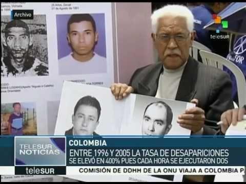 Informa CNMH de Colombia que en 45 años desaparecieron 60 mil personas