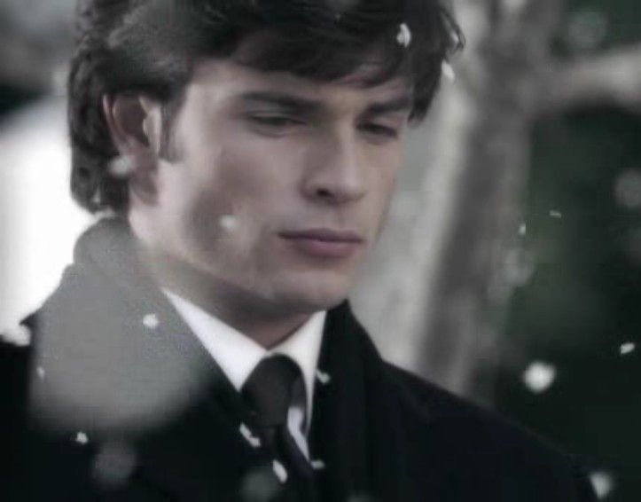 Smallville - in this episode Clark's father dies and he loses Lana's love, again. It's a cold and serious moment indeed