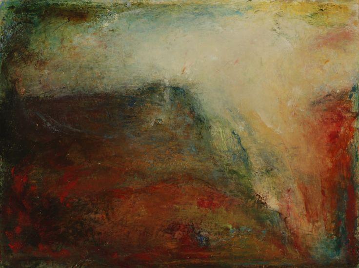 O'Toole, Helen - Western Lilt  (20 X 15 cm. Oil on Yupo paper).