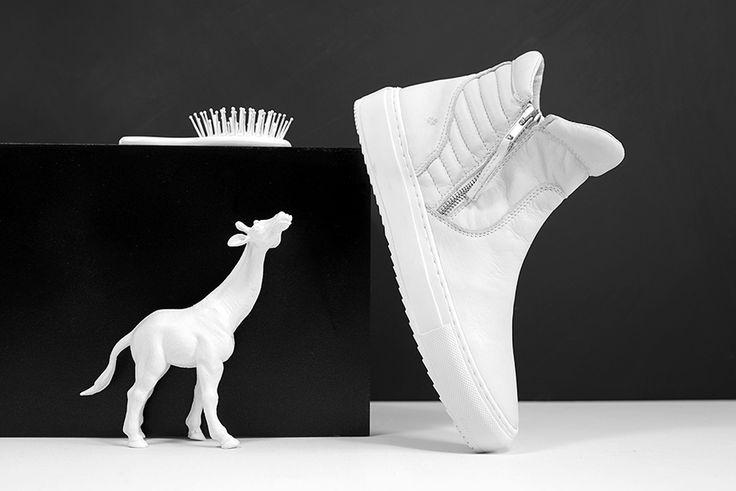 White sneakers - ILC SHOES - witte schoenen www.ilc-shoes.com #sneakers #ilcshoes ilc shoe company