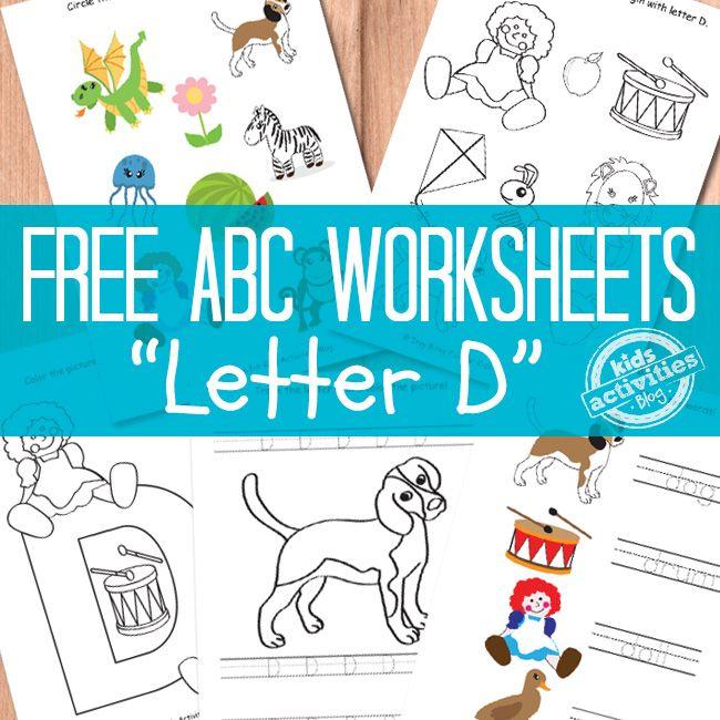 Best  Letter D Worksheet Ideas On   D Letter Images