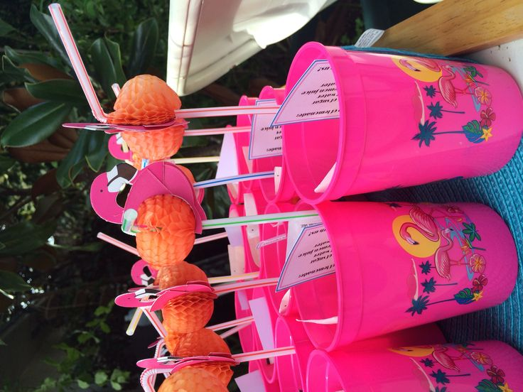 Miami Vice inspired party for twin boy & girl MIAMI TWICE. Home made lemonade recipe party favors. Lemon, straw, novelty cup and a recipe. #lemonadepartyfavor #twins #boygirltwins #twinpartyideas #outdoorpartyideas #miamipartyideas #miamiviceparty #birthdaypartyideas #firstbirthday #firstbirthdayideas #palmtreepartydecor #flamingopartydecor #blueandpinkcolortheme #twins #partyideas #chevroncookies #customcookies #miamitwicetwinsparty #youcancallmesweety #doublebirthday #originalpartyconcept
