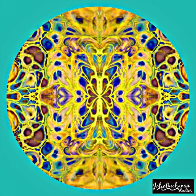 Mandala for Monday by Jolie Buchanan