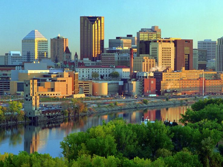 St Paul, Minnesota - Mississippi River