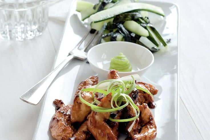 Japanse kip met nori en komkommer - Recept - Allerhande