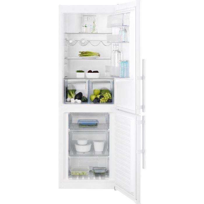 Energiapihi Electrolux EN3453MOW -jääkaappipakastin on varustettu pikapakastustoiminnolla, joka takaa nopean ja turvallisen pakastamisen. Pikapakastus on tarpeen silloin, kun pakastimeen lisätään kerralla enemmän tavaraa.